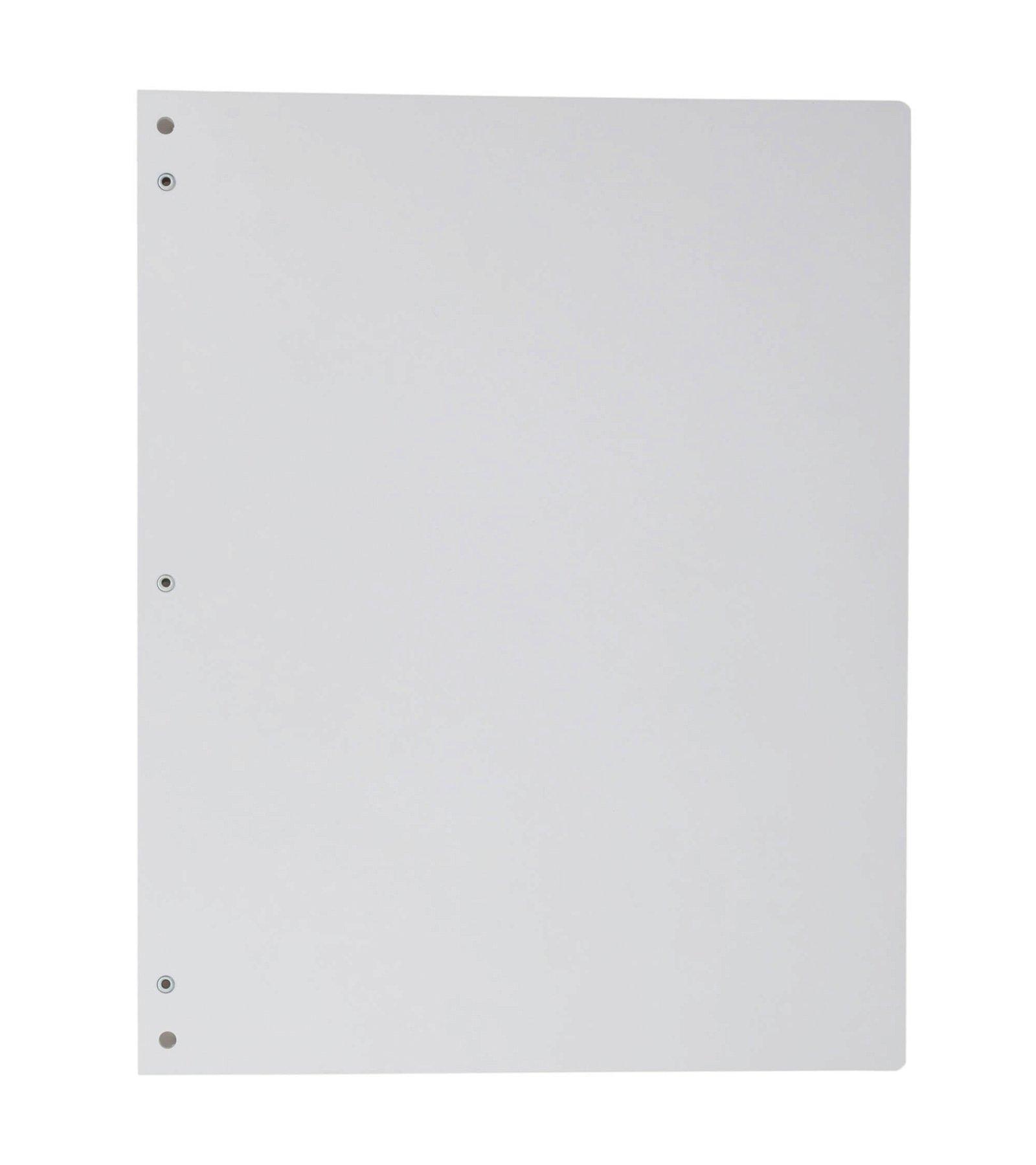 A4 Schreibplatte MAULpro Kunststoff Klemmer lange Seite, weiß