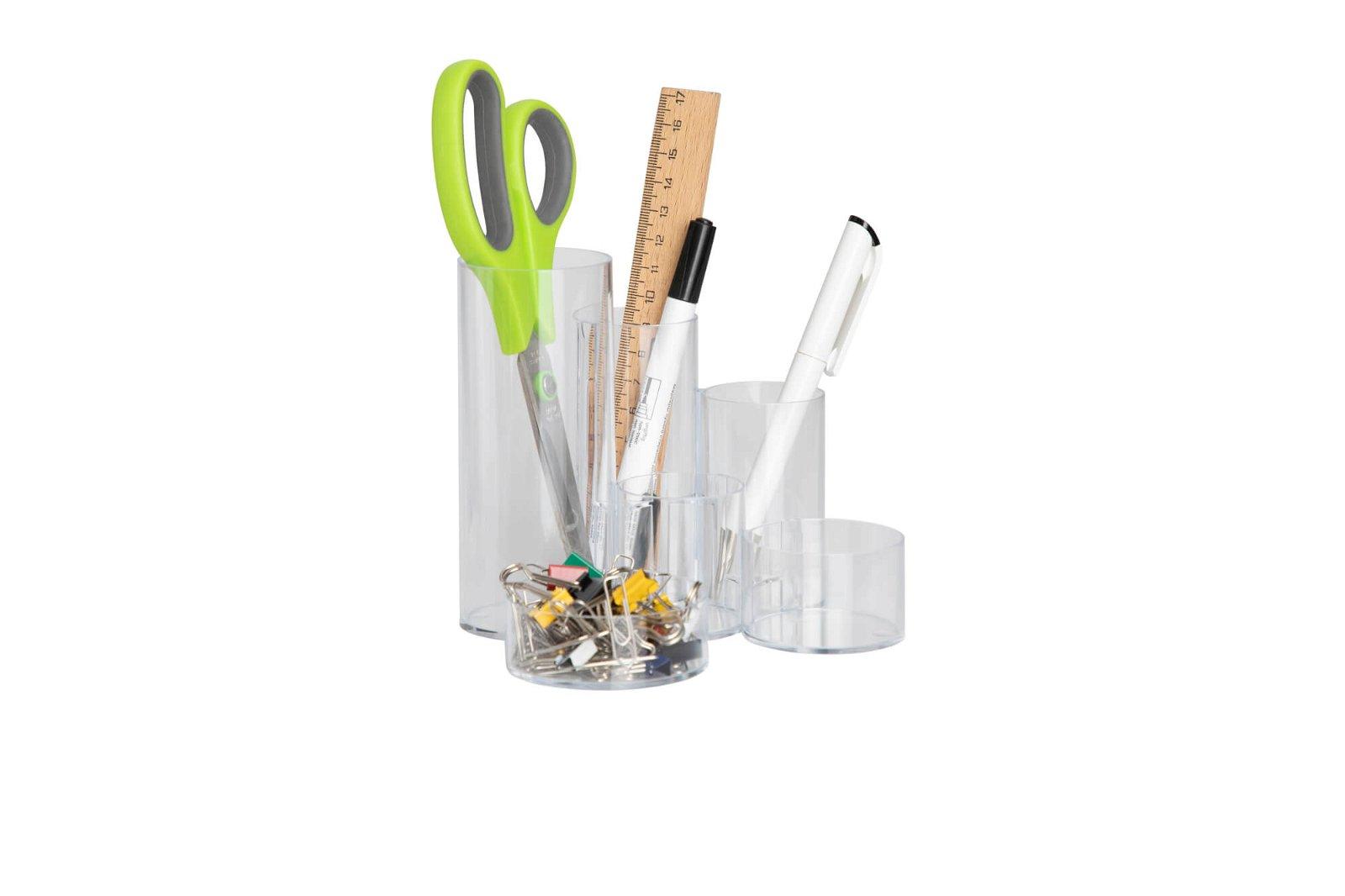 Stifteköcher MAULtubo - transparent