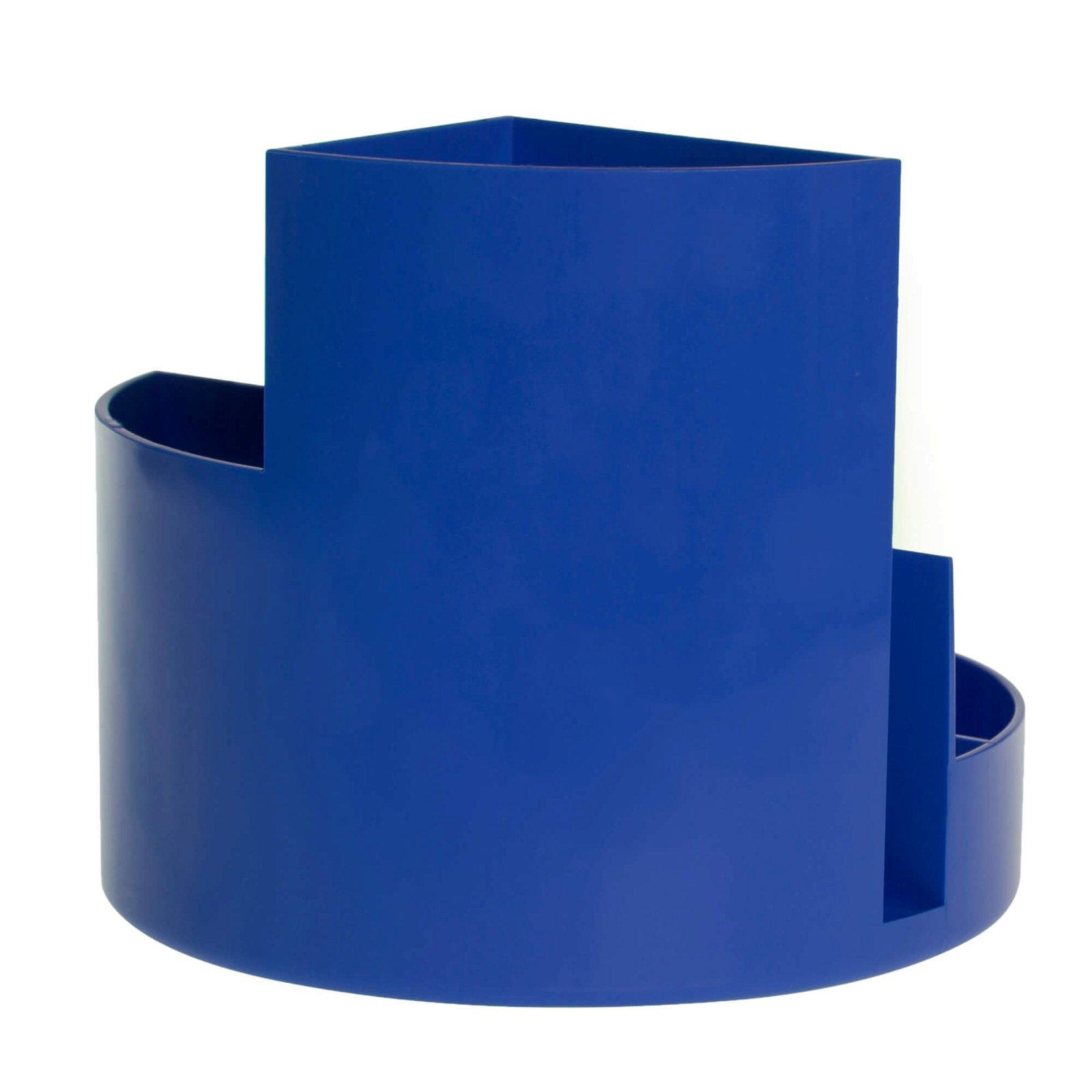 Rundbox, blau