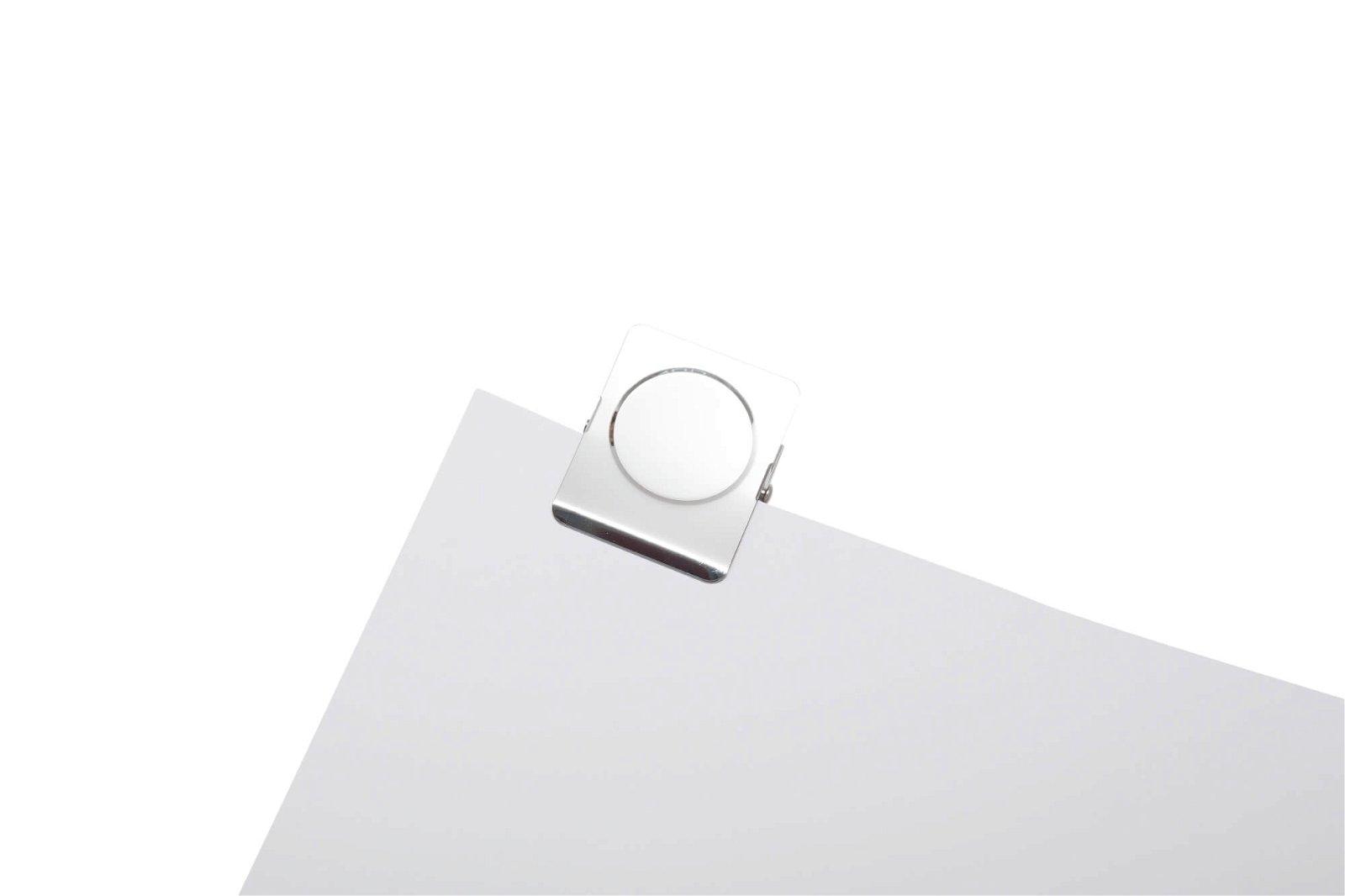 Papier-Klemmer mit Magnet, SB-Verpackung