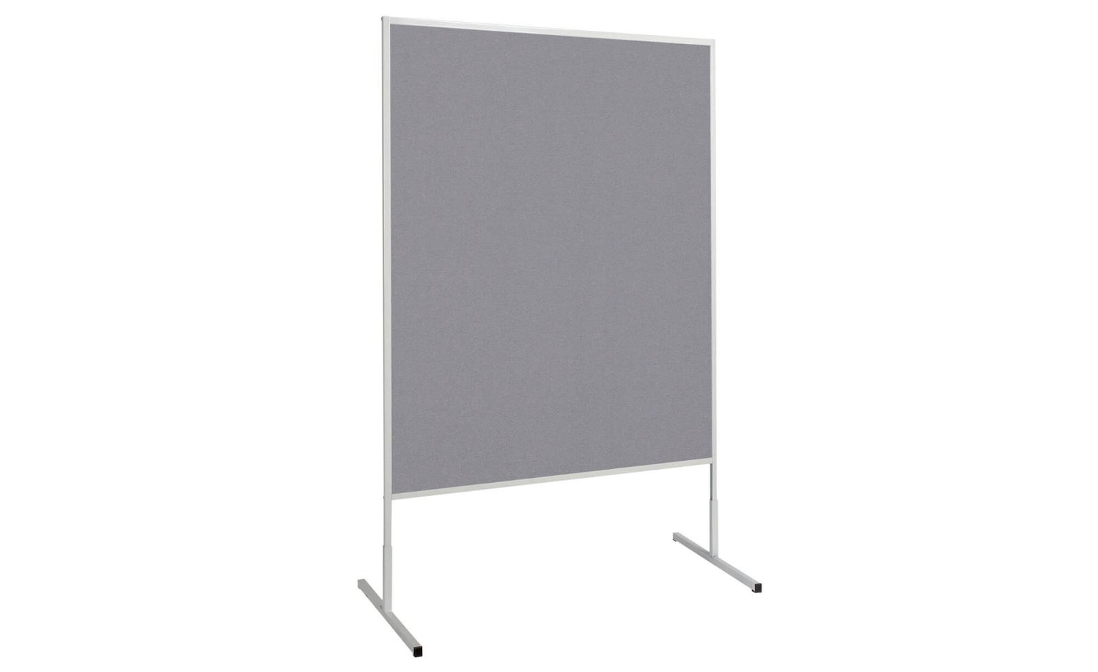 Moderationstafel MAULstandard Filz grau, 150x120 cm, grau