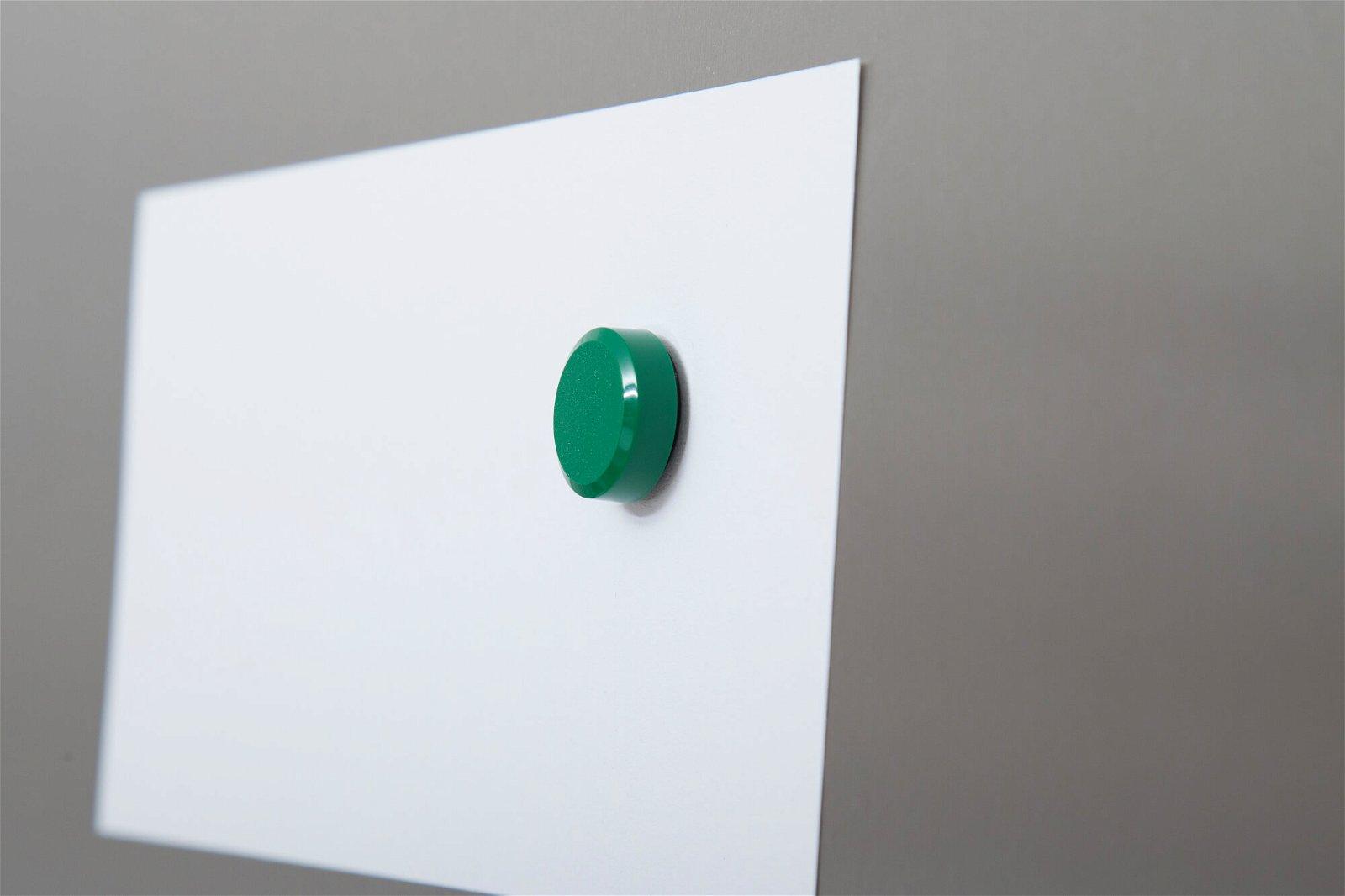 Facetterand-Magnet MAULpro Ø 20 mm, 0,3 kg, 20 St./Set, farbig sortiert