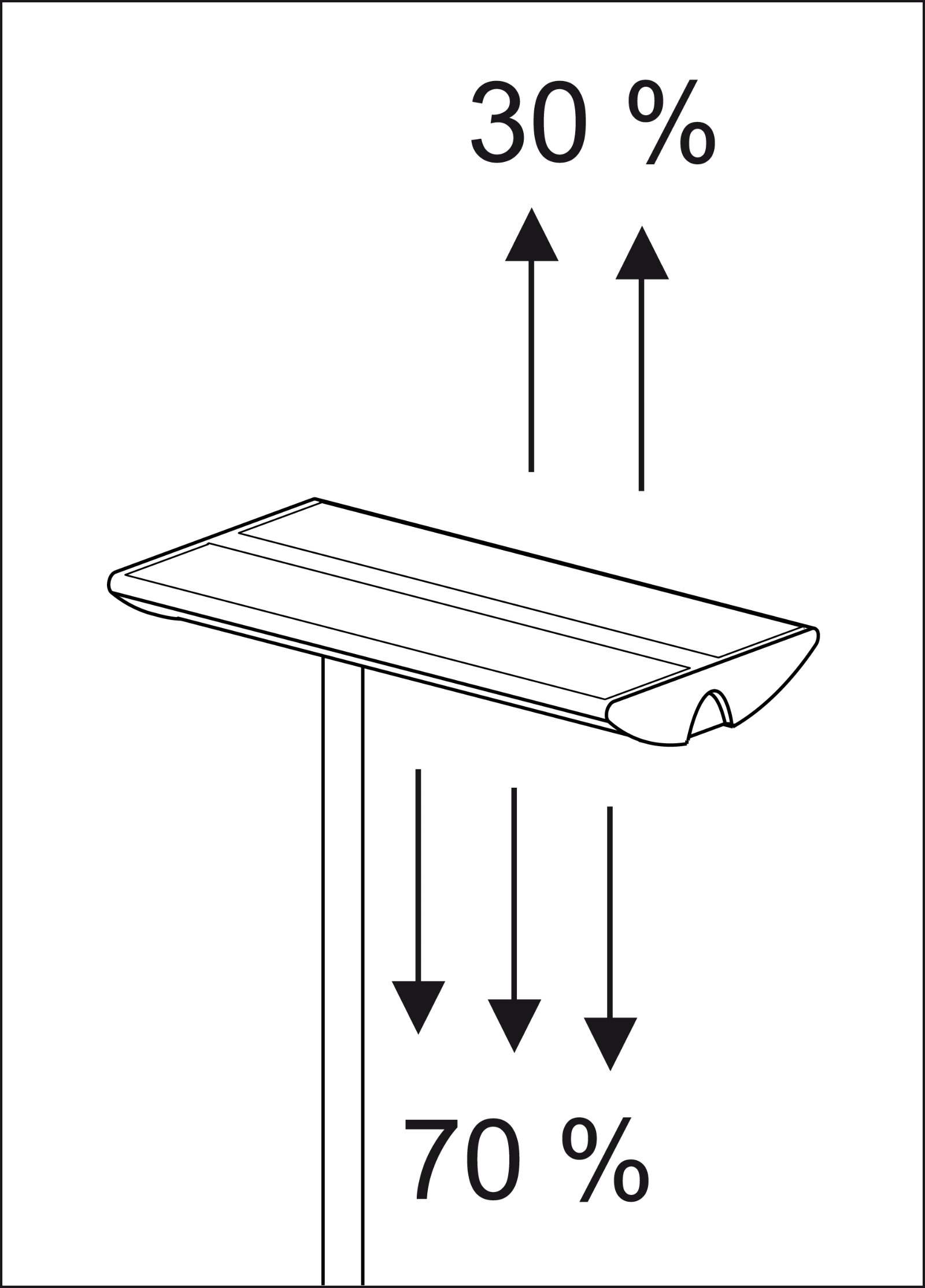 Energiespar-Standleuchte MAULnaos