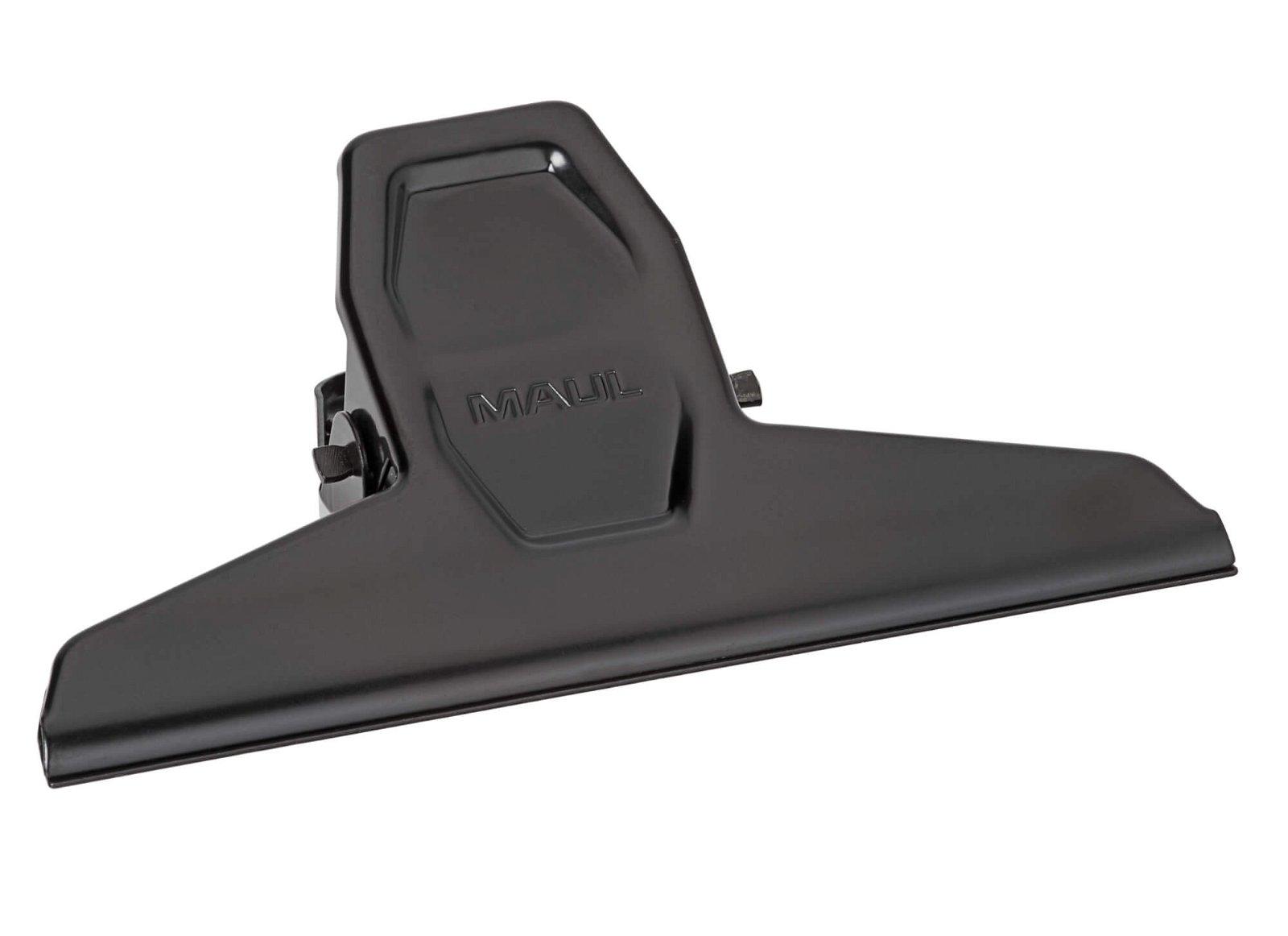 Brief-Klemmer MAULpro, Breite 125 mm, schwarz