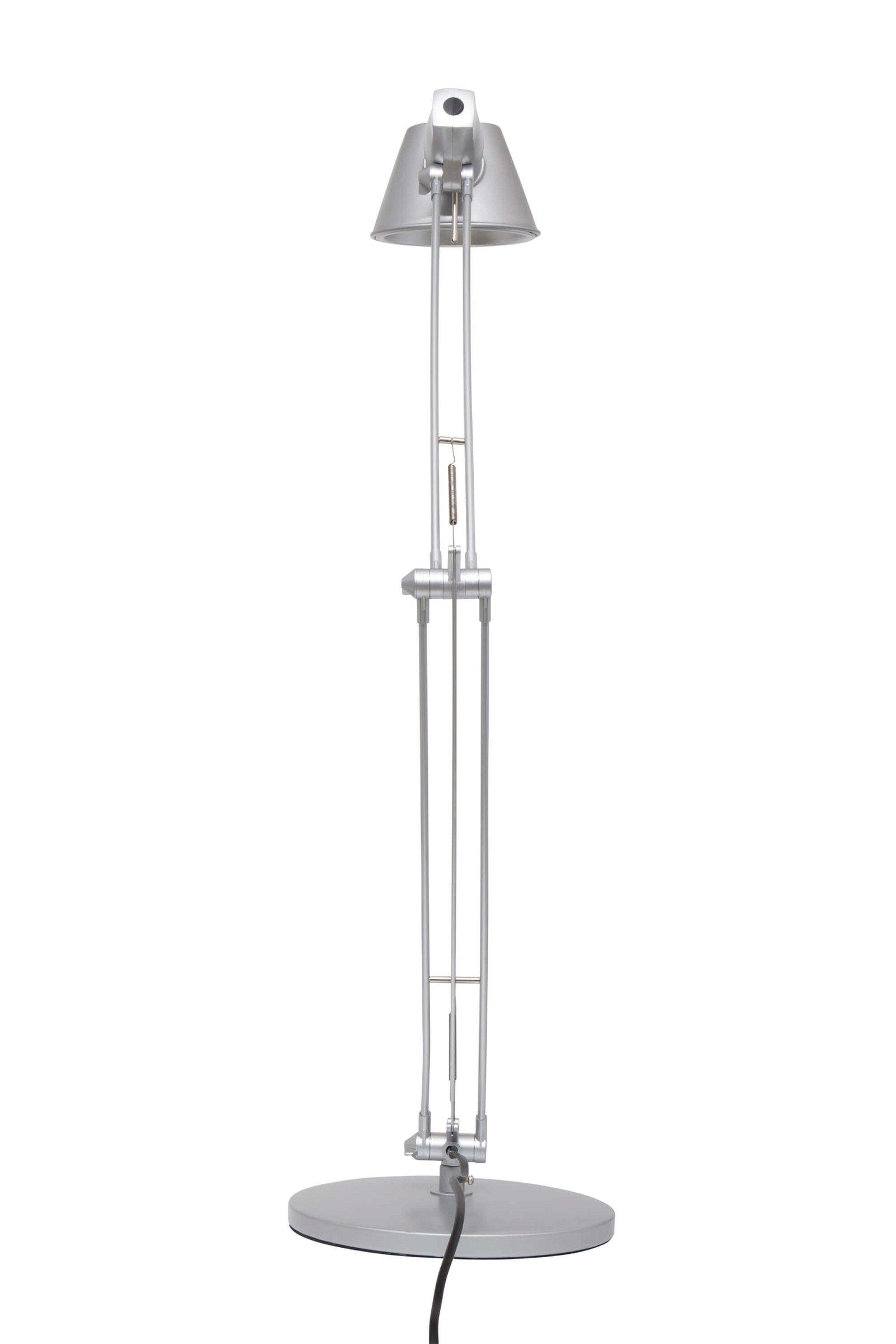 Energiespar-Tischleuchte MAULrock, silber