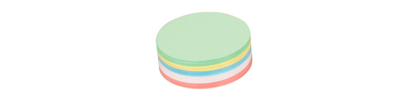 Moderationskarten, rund, Ø 9,5 cm, 250 St./Pack, farbig sortiert