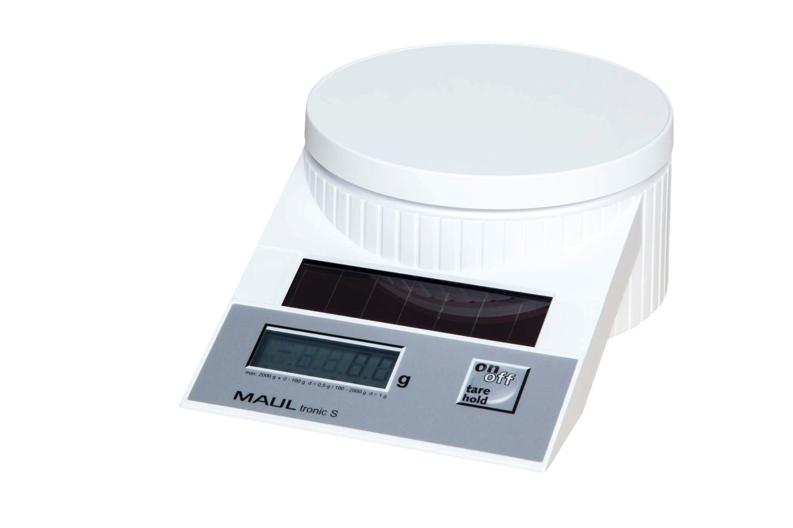 Solar-Briefwaage MAULtronic S, 2000 g, weiß