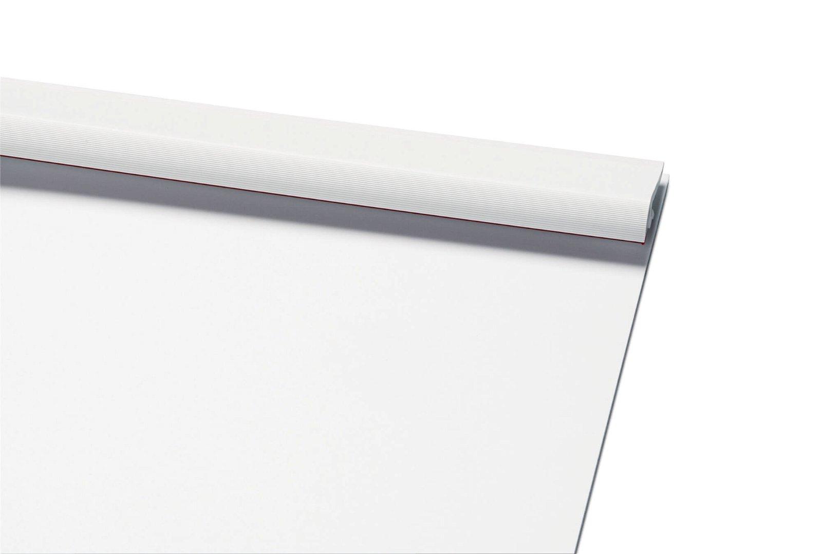 A4 Schreibplatte MAULpro Kunststoff Klemmer kurze Seite, weiß
