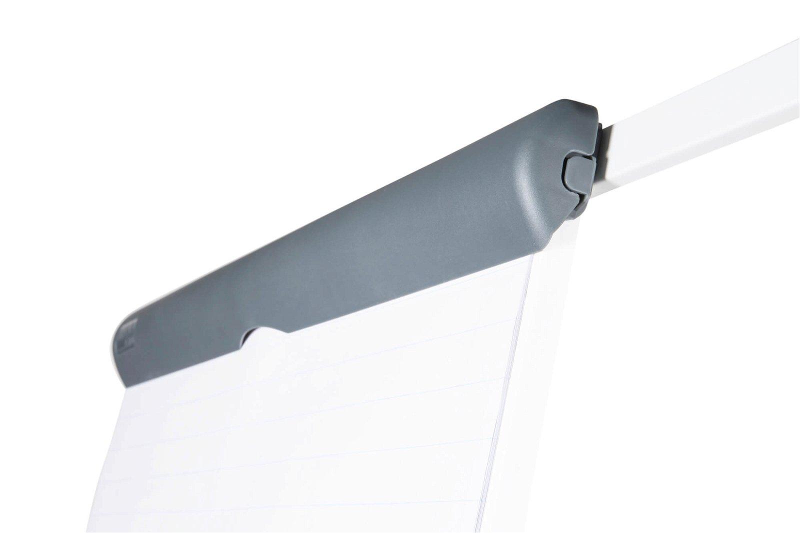 Flipchart MAULstandard, Dreibein plus, 2 Papierhaltern, grau