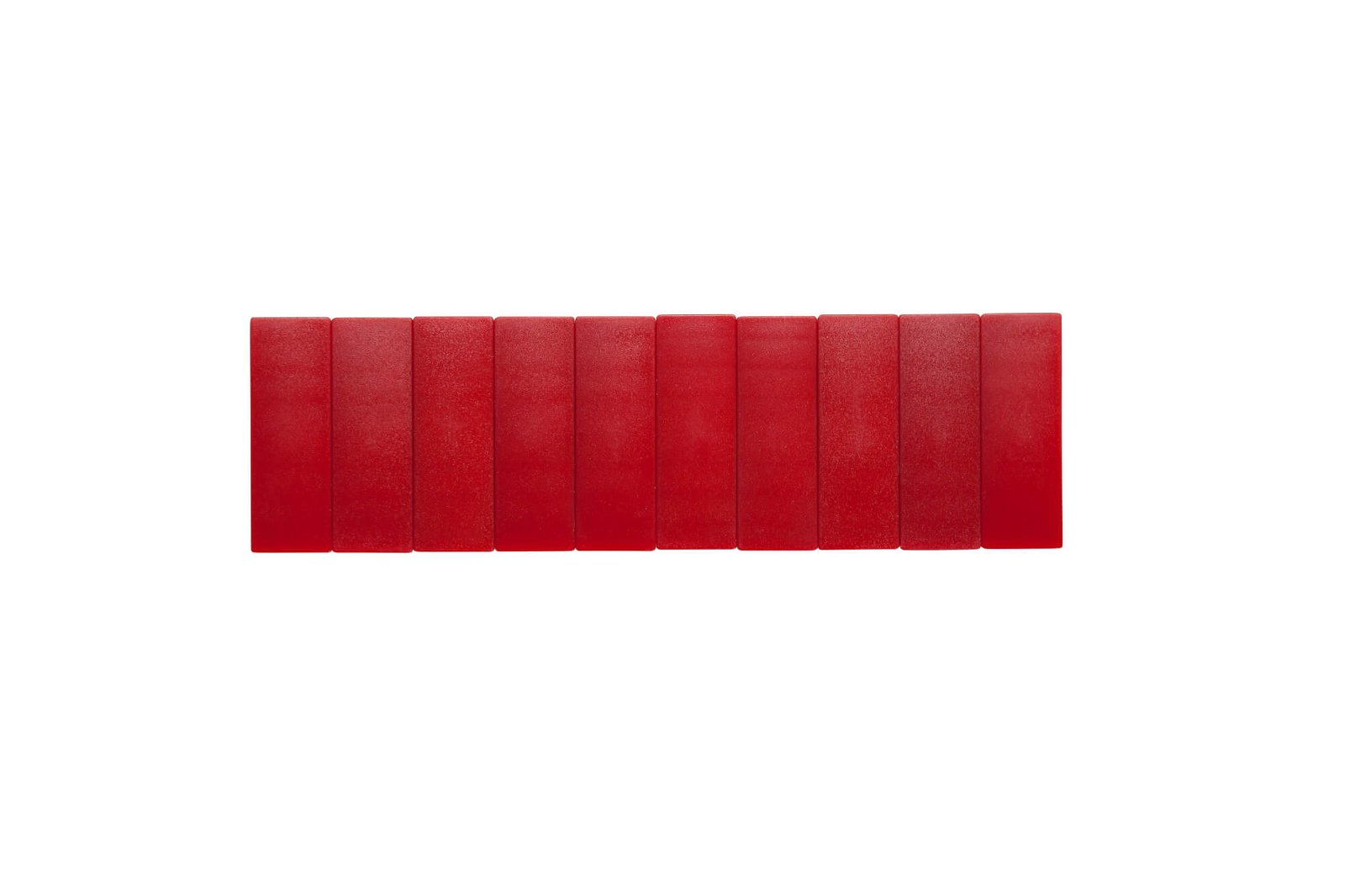 Magnet MAULsolid 54 x 19 mm, 1 kg Haftkraft, 10 St./Ktn., rot