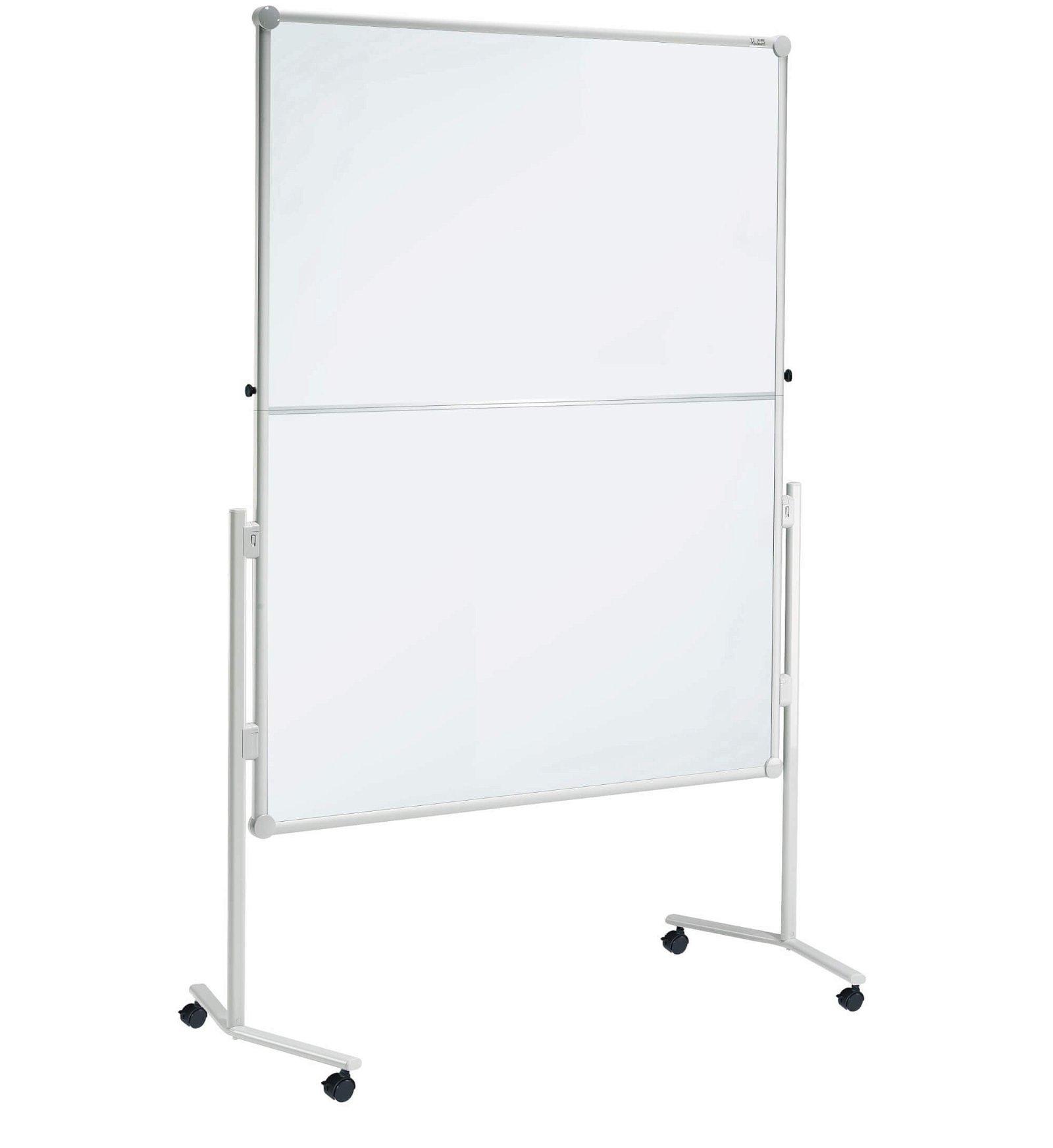 Moderationstafel MAULpro klappb. Textil/WB, 150x120 cm, grau