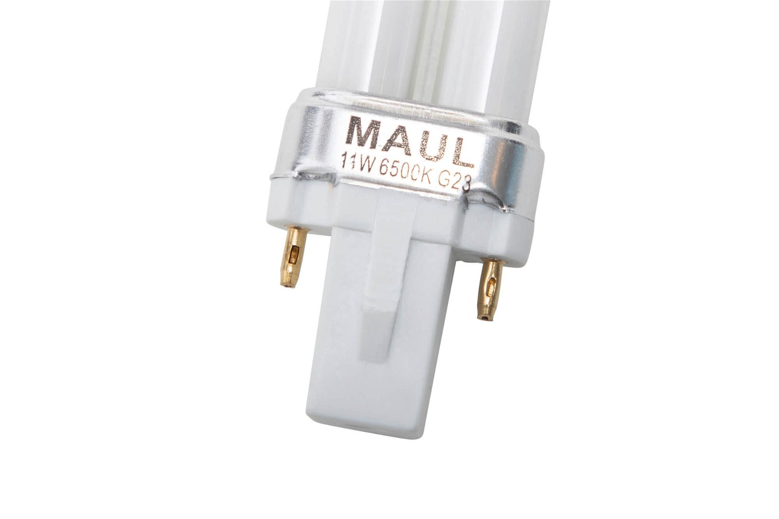 Energiespar-Leuchtmittel, Sockel G23, 6500 K, glasklar