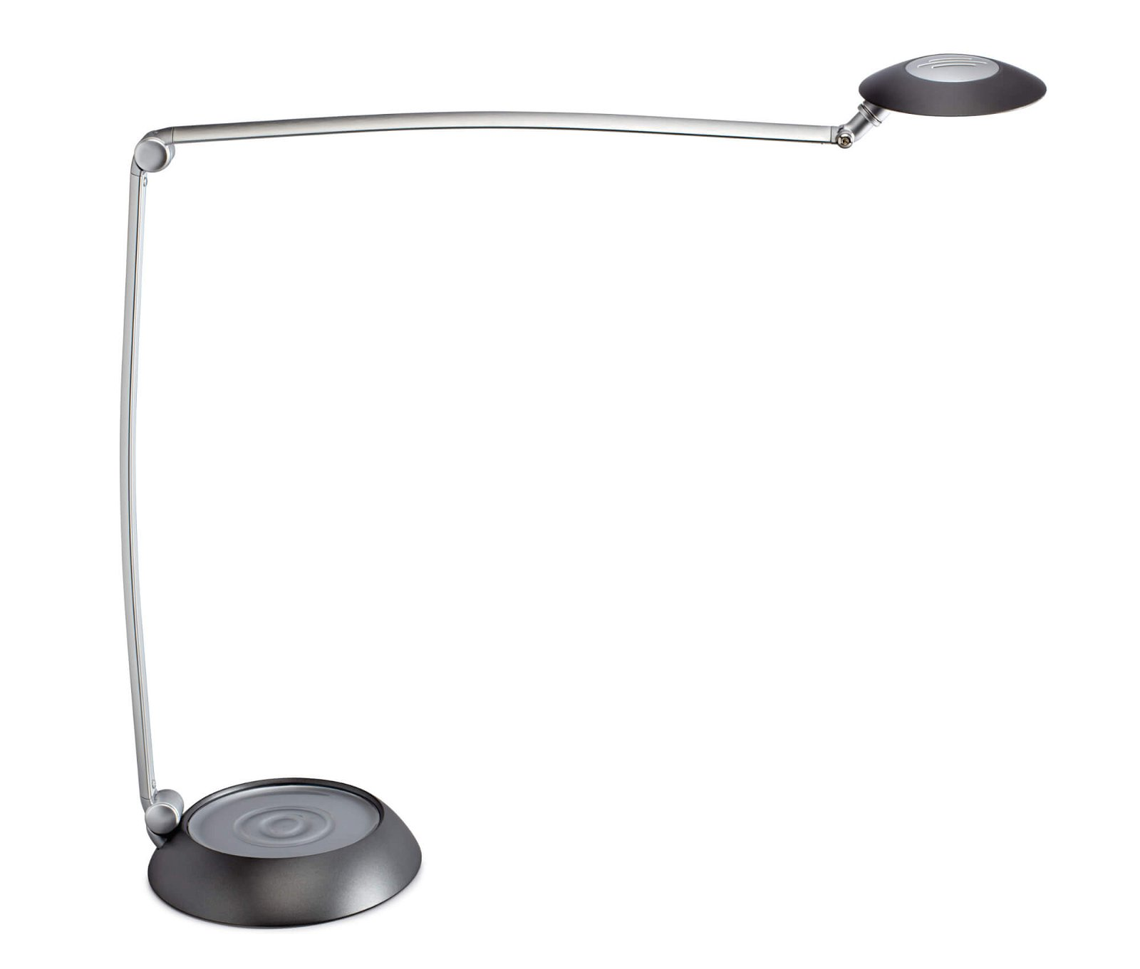 LED-Tischleuchte MAULspace, dimmbar, silber