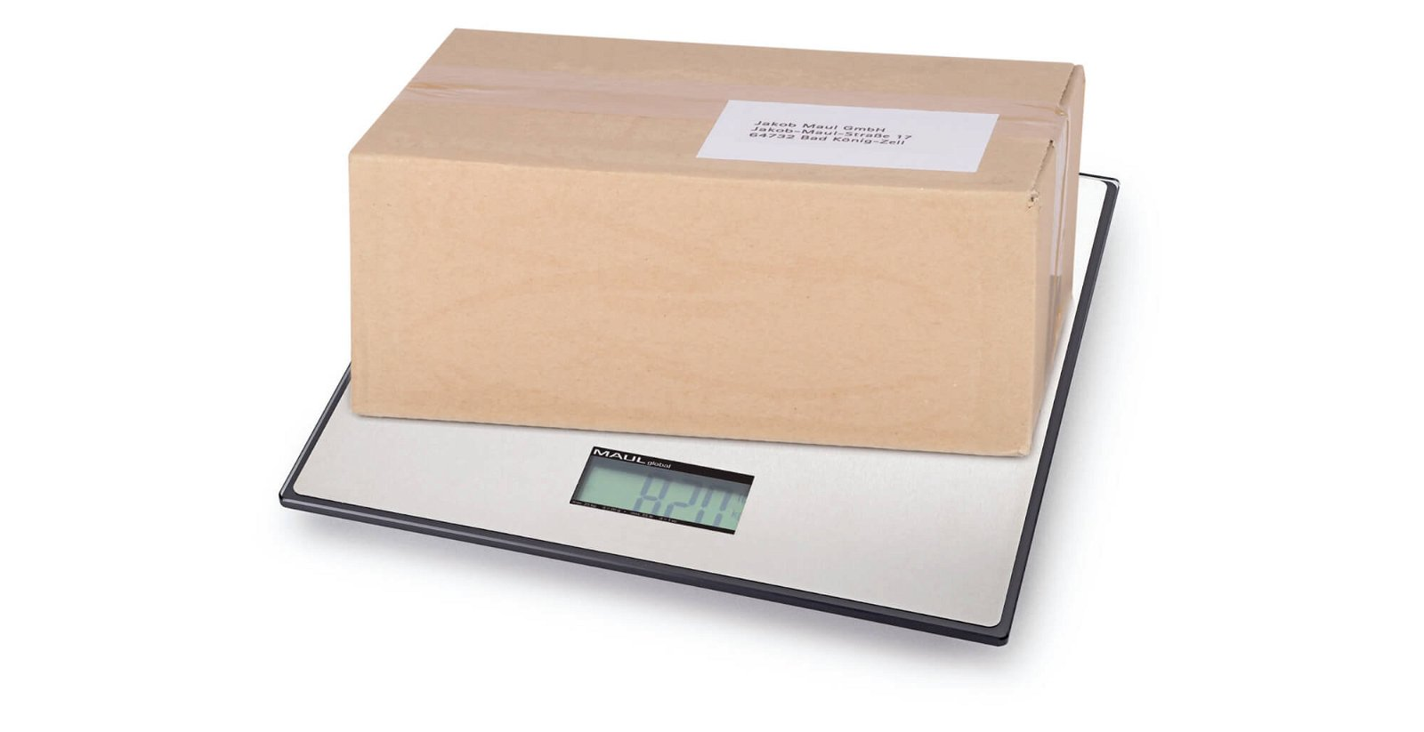 Paketwaage MAULglobal, 25 kg, schwarz