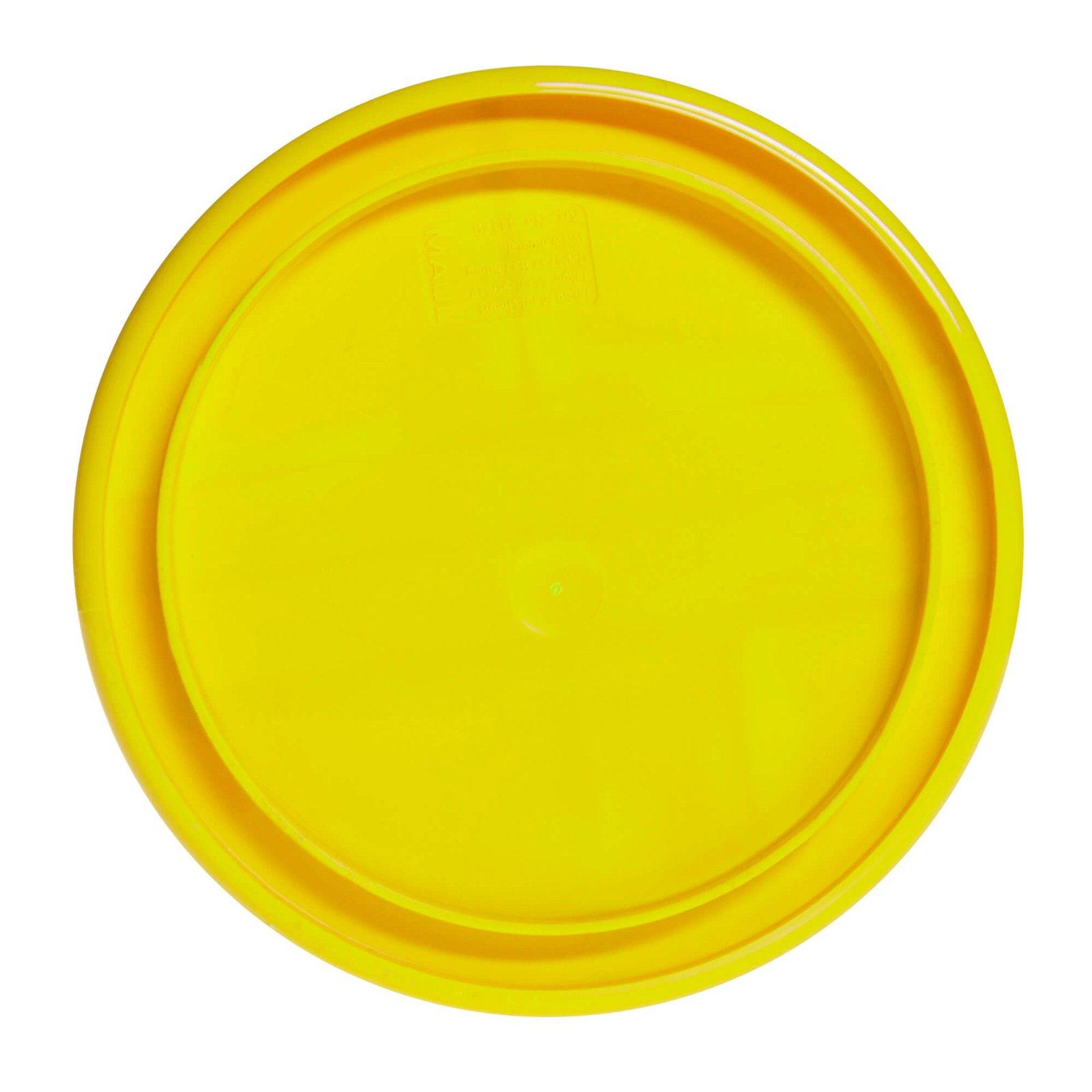 Rundbox, gelb