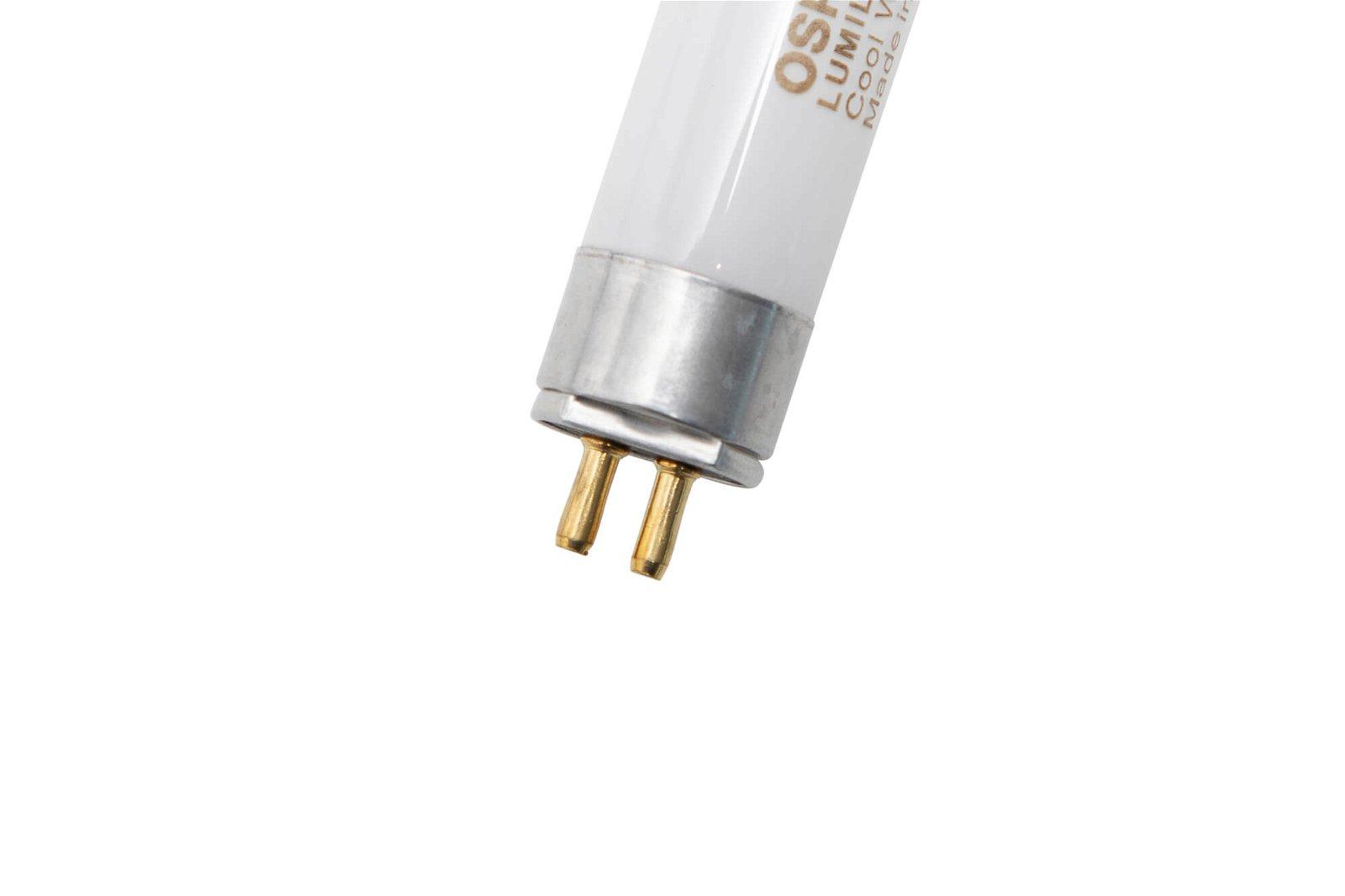Energiespar-Leuchtmittel, 14 Watt, Sockel G5, 4500 K, glasklar