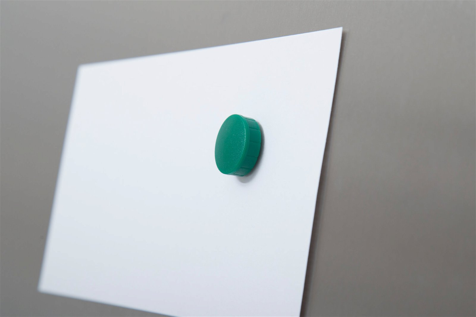 Magnet MAULsolid Ø 20 mm, 0,3 kg Haftkraft, 10 St./Ktn., grün