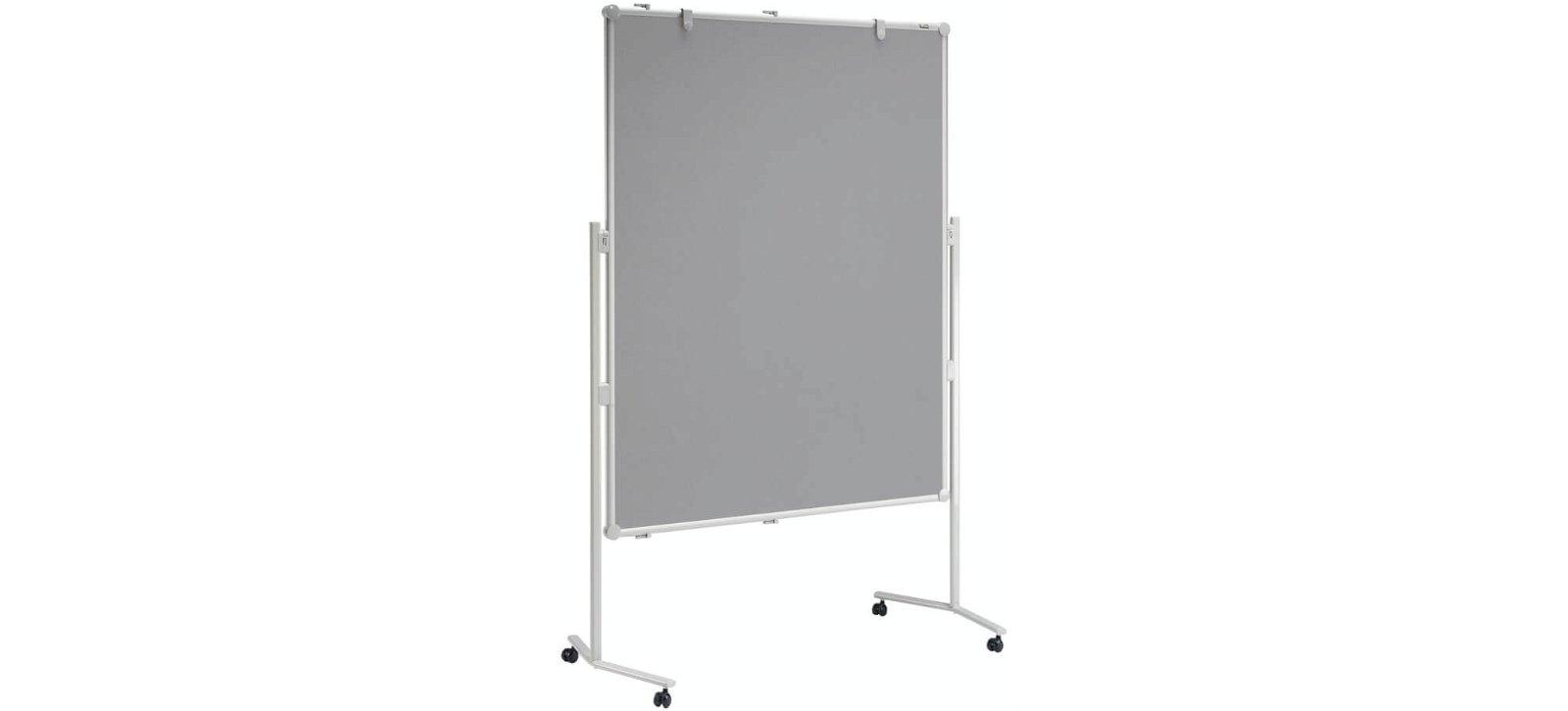 Moderationstafel MAULpro Textil grau, 150x120 cm, grau
