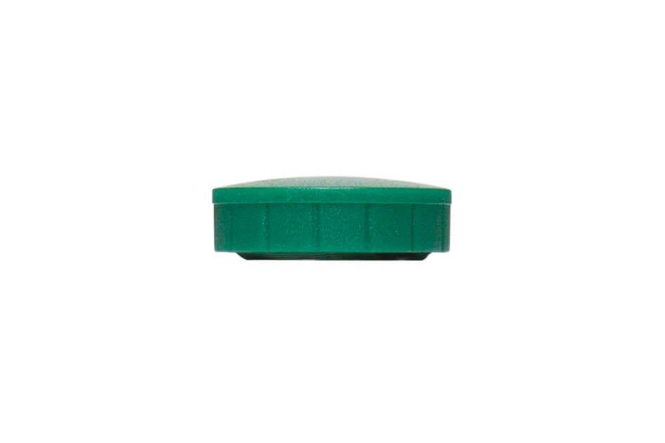 Magnet MAULsolid Ø 24 mm, 0,6 kg Haftkraft, 10 St./Ktn., grün