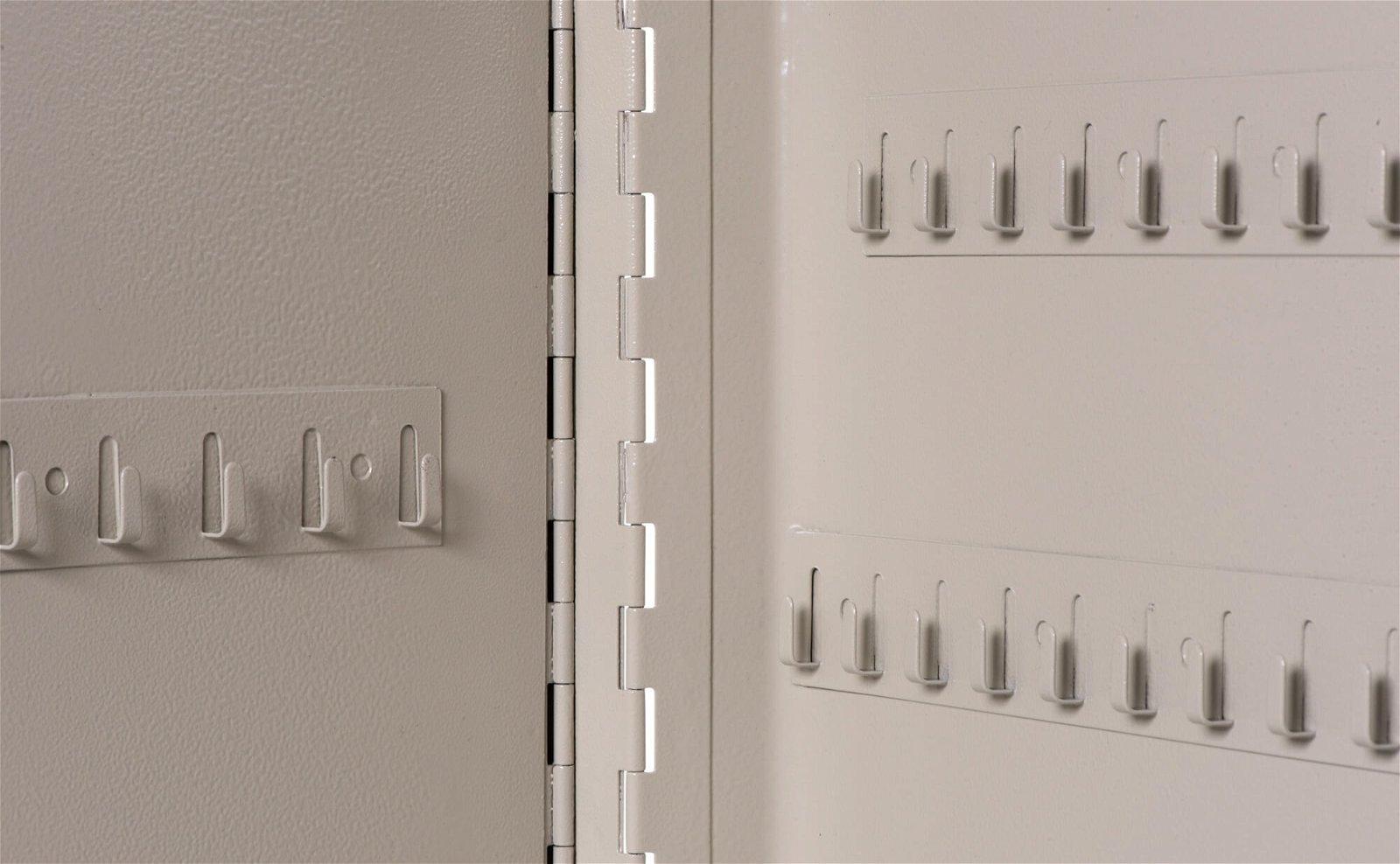 Schlüsselkasten für 140 Schlüssel, grau