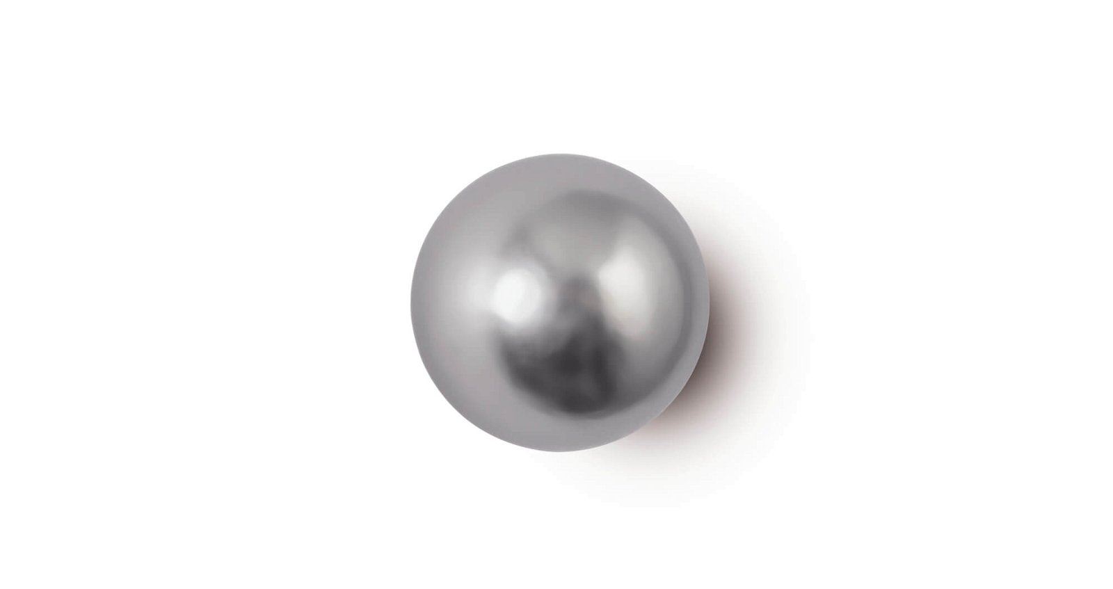 Neodym-Kugelmagnet, Ø 15 mm, 4 kg Haftkraft, 4 St./Set, hellsilber