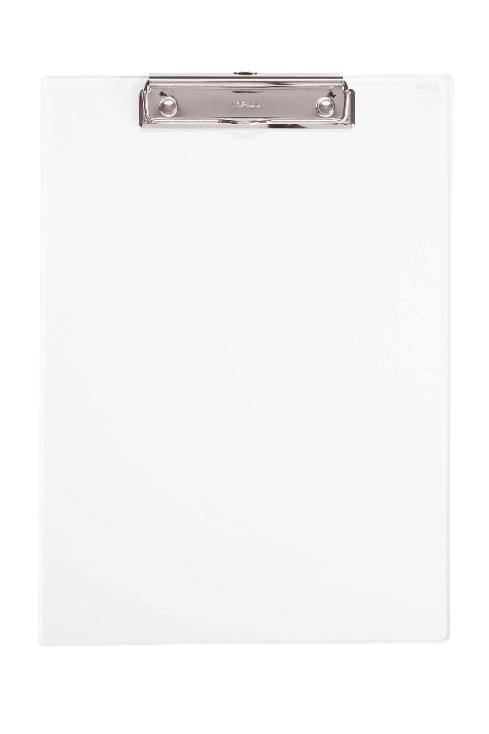 Schreibplatte, Acryl mit Bügelklemme