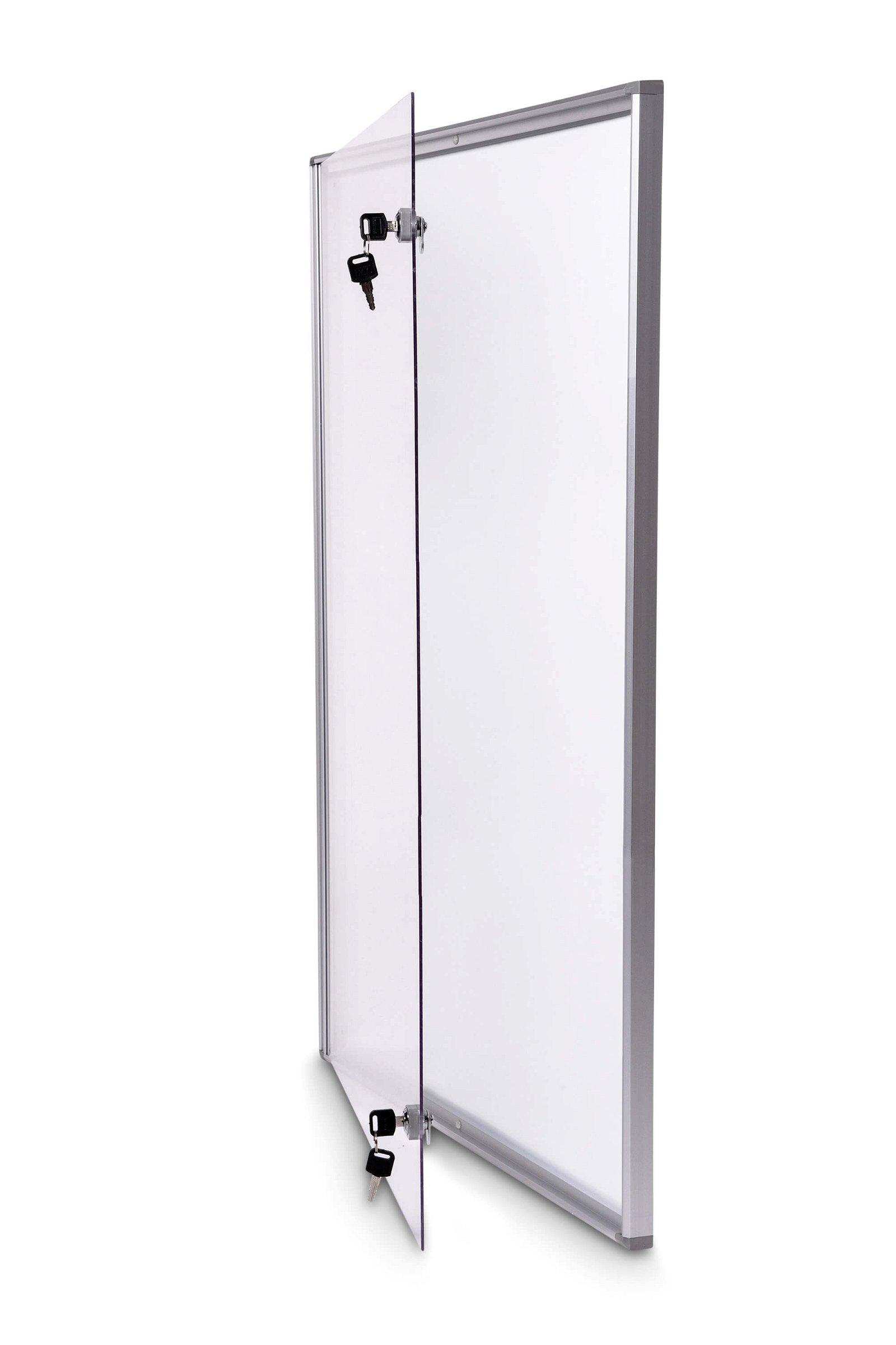 Schaukasten MAULextraslim, 9 x A4, aluminium