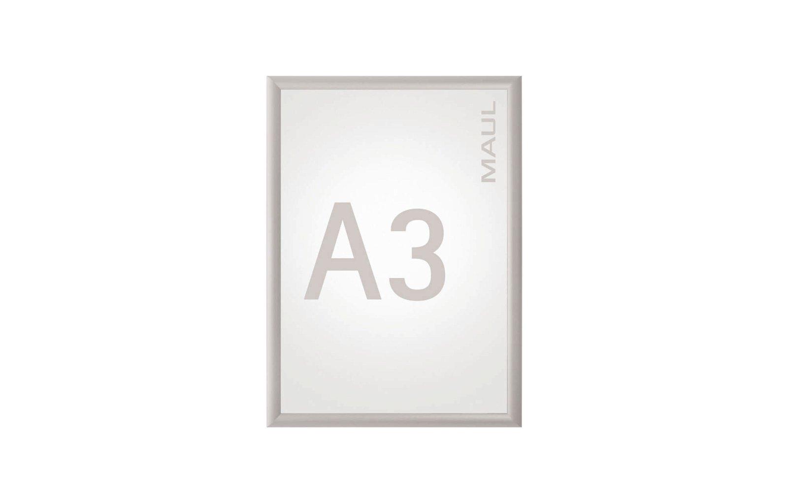 Klapprahmen MAULstandard, A3, aluminium
