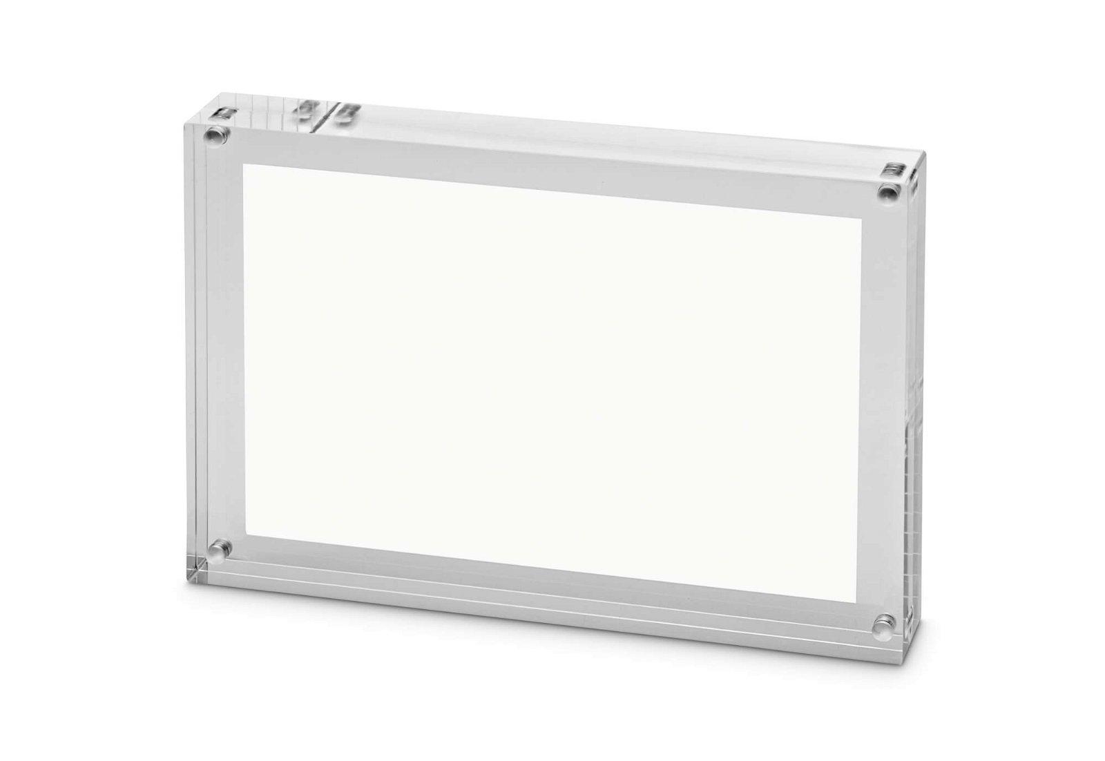 Bilderhalter Acryl, 14,9 x 21,1 x 3 cm, glasklar