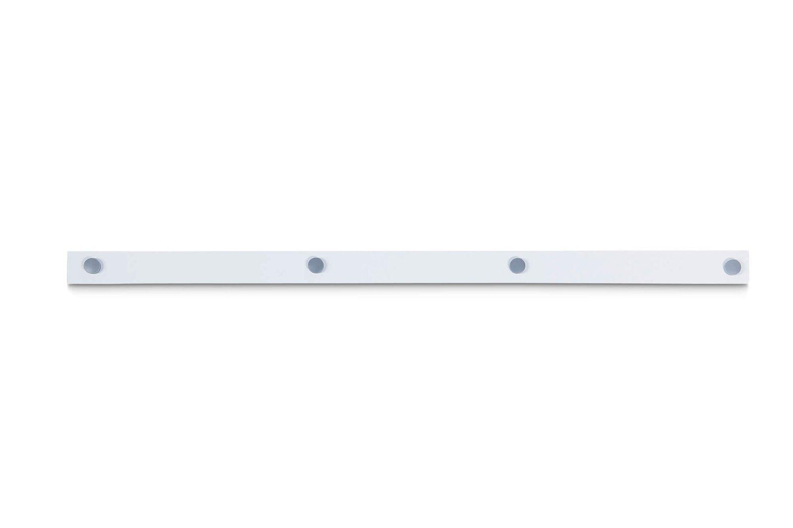Ferroleiste MAULstandard, Länge 100 cm, inkl. 4 Magnete, weiß