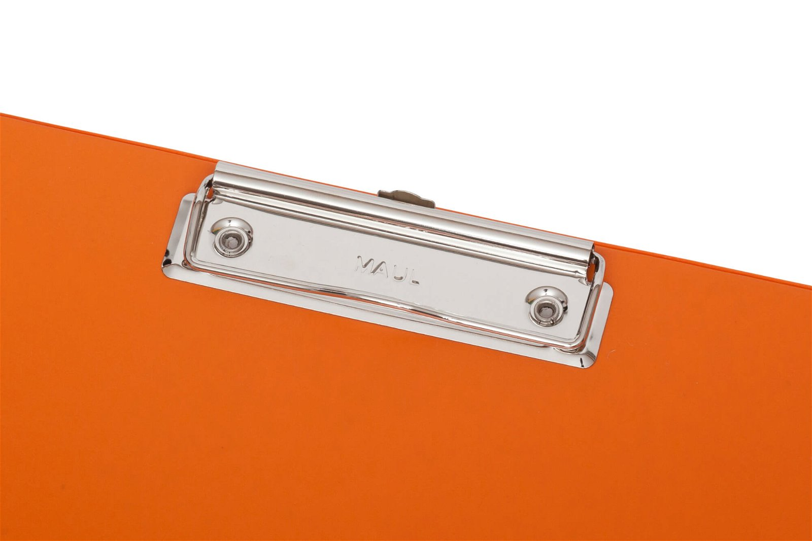 A4 Schreibplatte mit Folien- überzug, orange