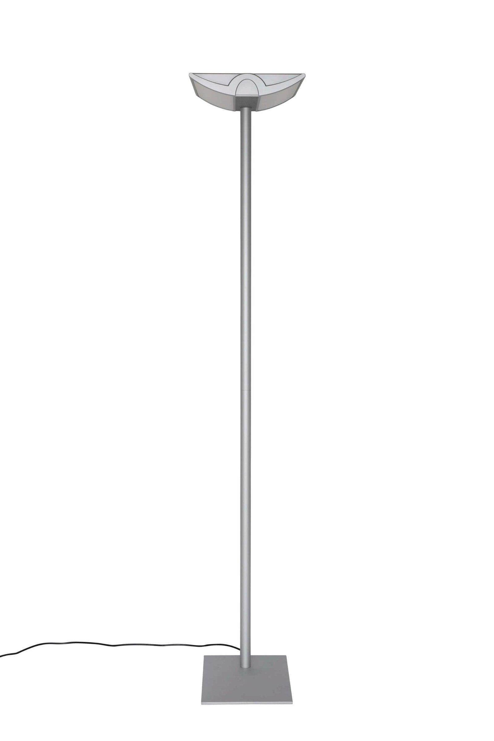 Energiespar-Standleuchte MAULnaos, silber