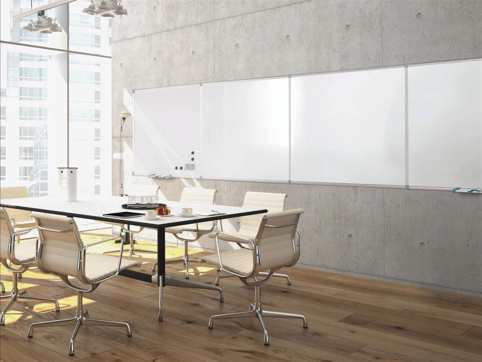 Endlos-Whiteboard Erweite- rung, 120x90 cm, hoch, grau