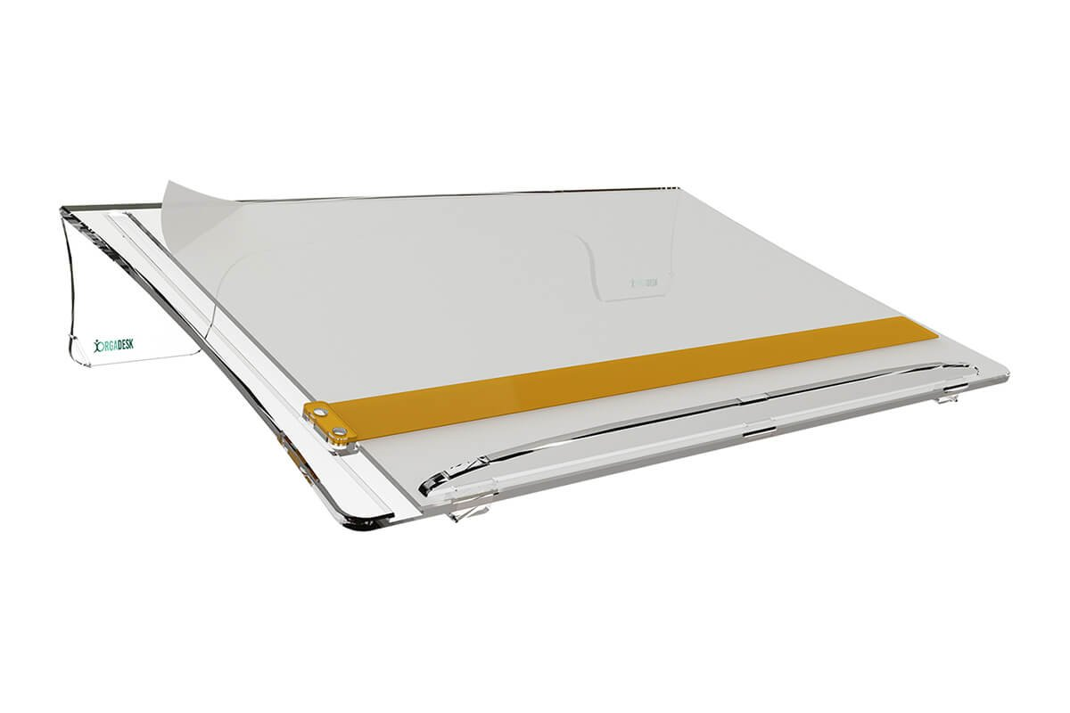 Orgadesk Basic TRA, ergonomischer Dokumentenhalter