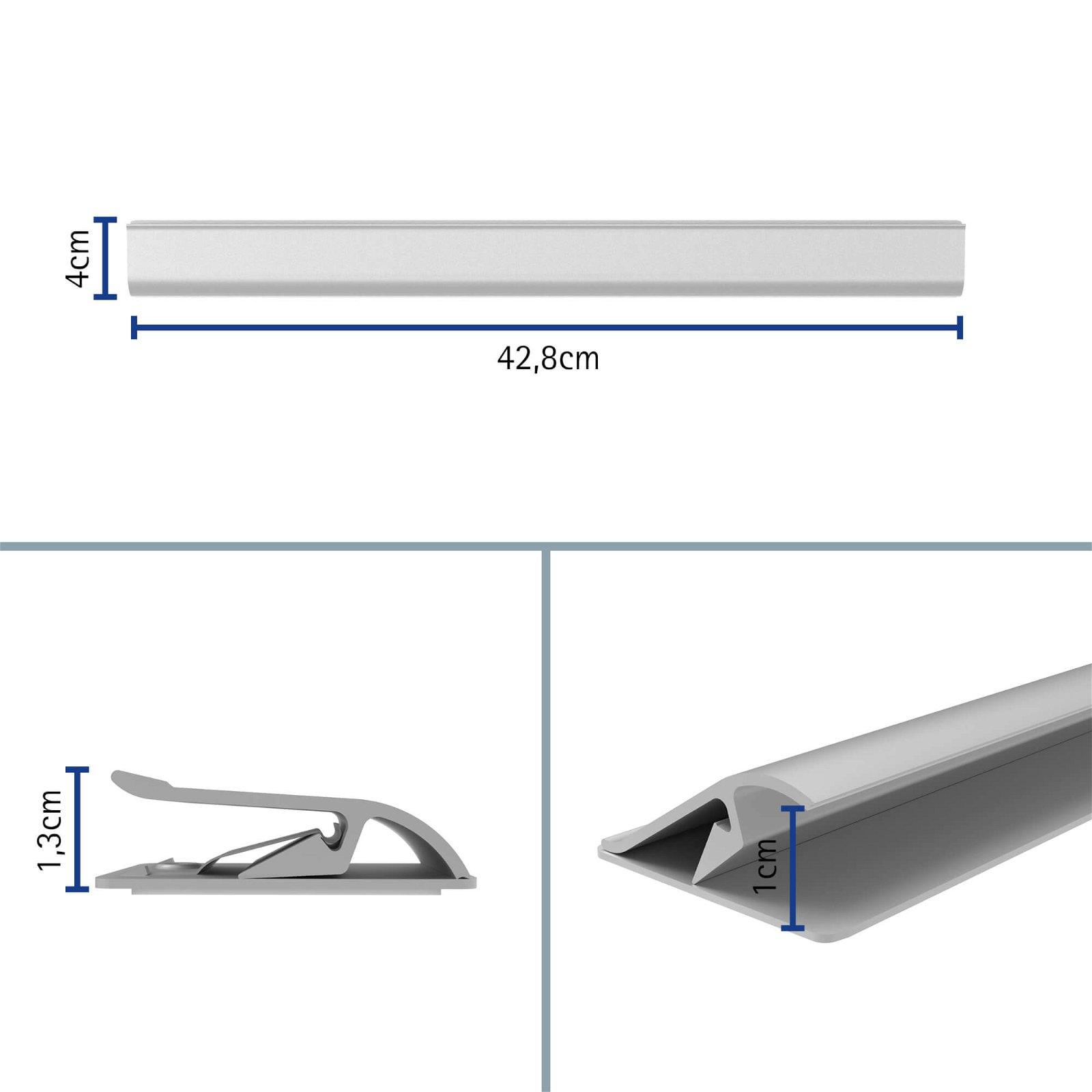 Klemmleiste Aluminium 42,8cm