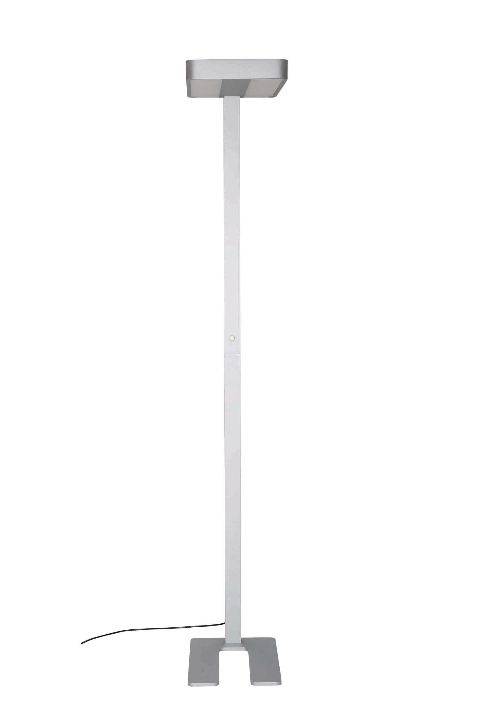 LED-Standleuchte MAULjupiter, dimmbar, silber