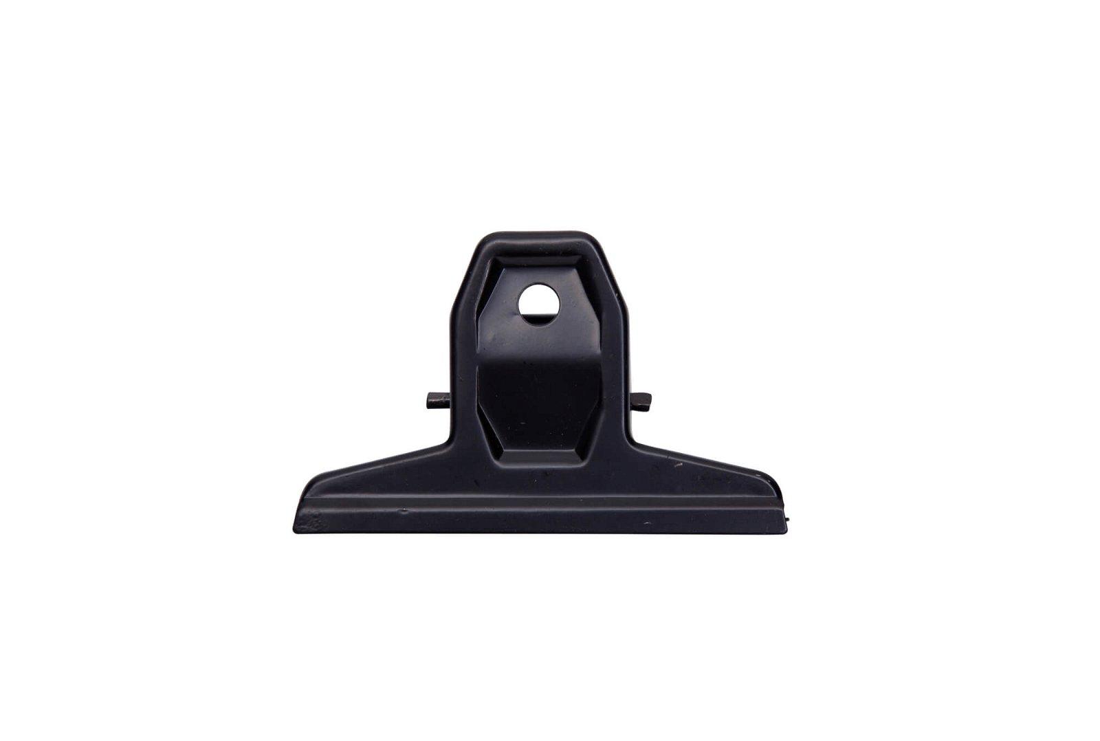 Brief-Klemmer MAULpro, Breite 75 mm, schwarz
