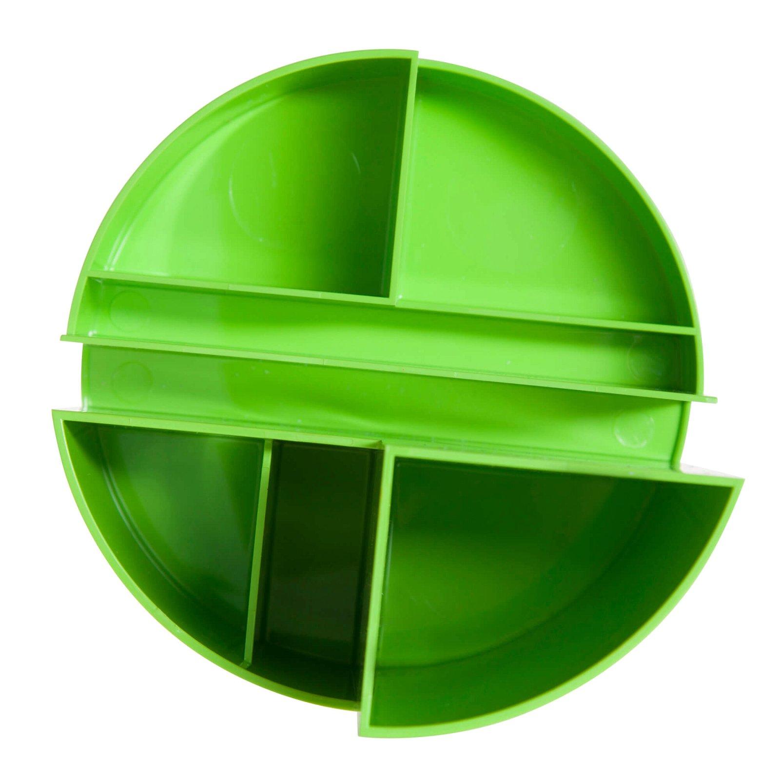 Rundbox, hellgrün