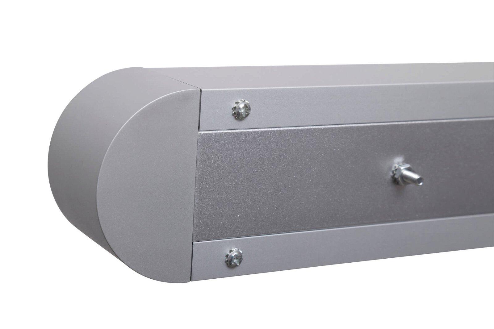 LED-Pendelleuchte MAULstraight, 45 W, 157,5 cm, silber