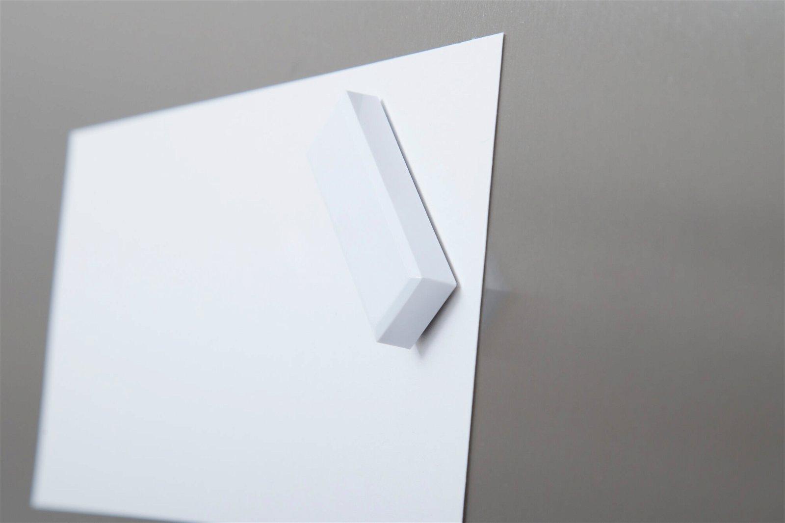 Facetterand-Magnet MAULpro 53 x 18 mm, 1 kg, 20 St./Set, weiß