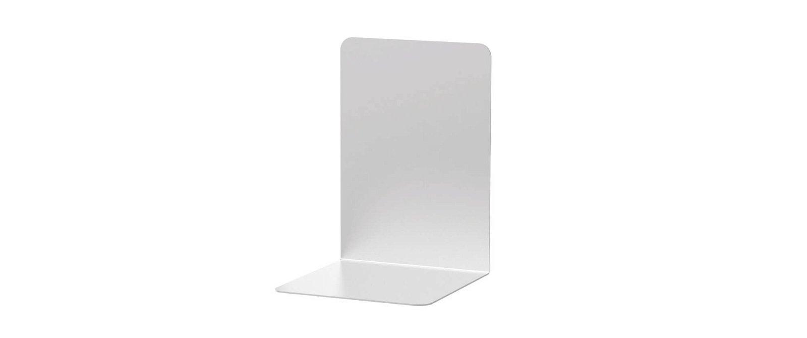 Buchstützen aus Aluminium, 12 x 12 x 17,5 cm, aluminium
