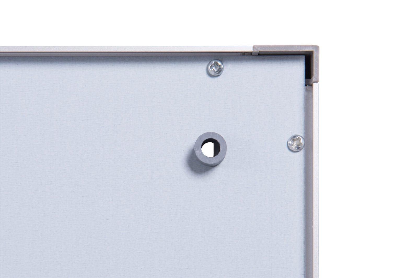 Schaukasten MAULextraslim, 6 x A4, aluminium