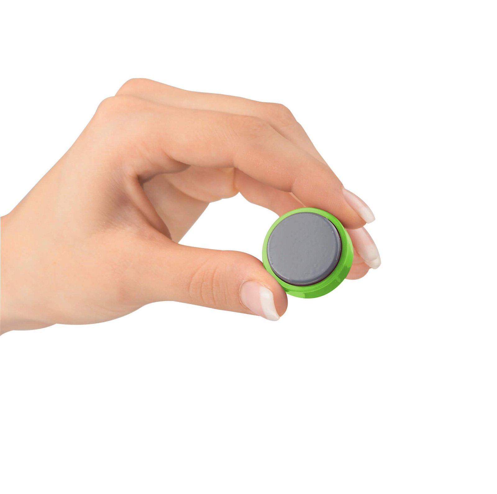 Facetterand-Magnet MAULpro Ø 30 mm, 0,6 kg, 20 St./Set, hellgrün