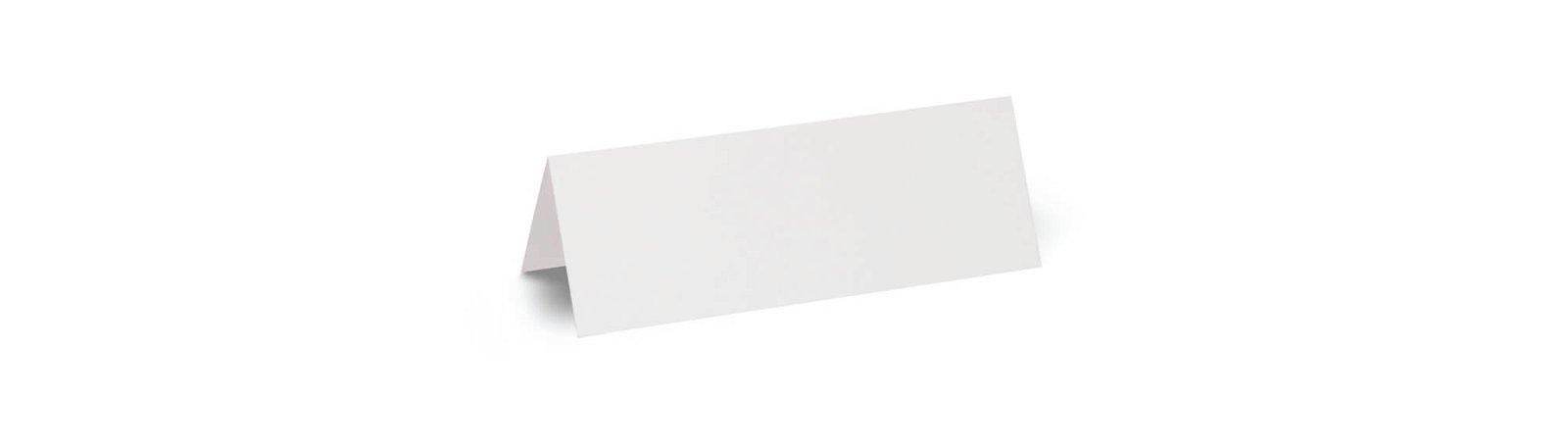Namensschilder, 21 x 7,5  cm, 100 St./Pckg., weiß