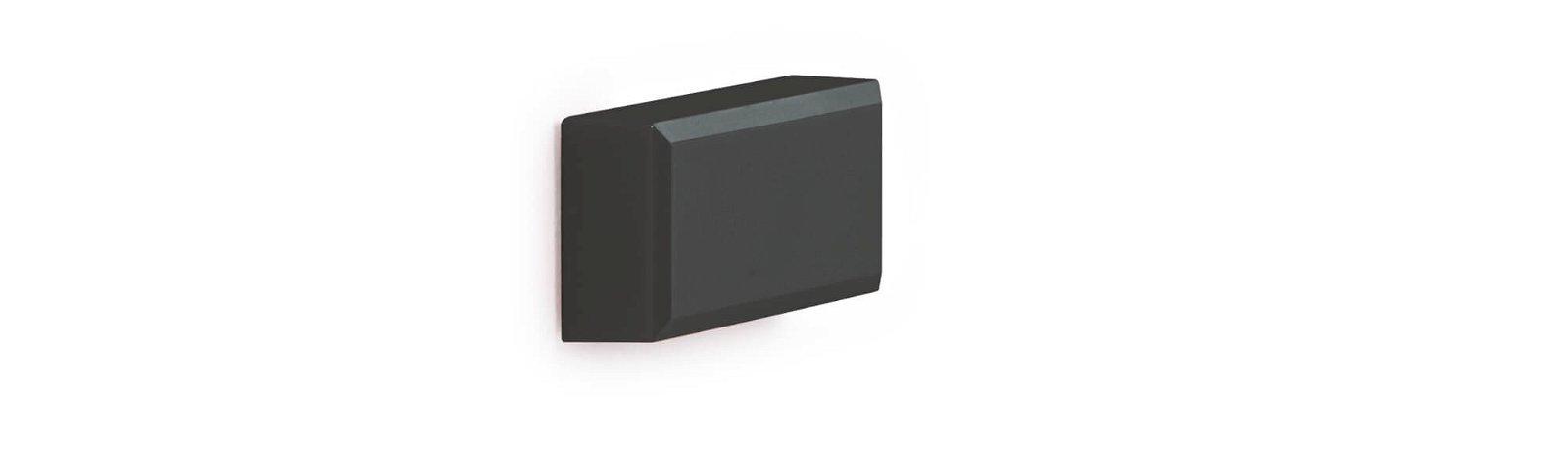 Facetterand-Magnet MAULpro 53 x 18 mm, 1 kg, 20 St./Set, schwarz